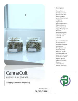 Cannabis Dispensary Business Plan Template