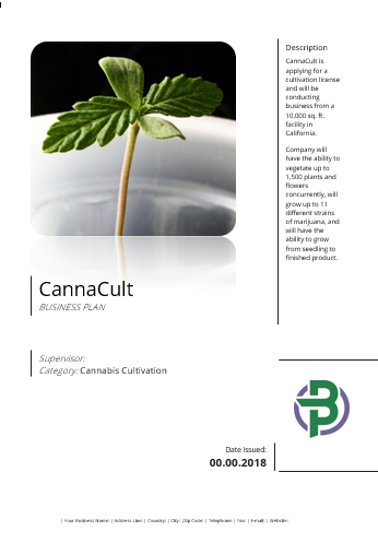turnkey cannabis business plan