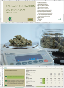 cannabis cultivation dispensary financial model