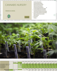 Cannabis Clones Nursery Financial Model