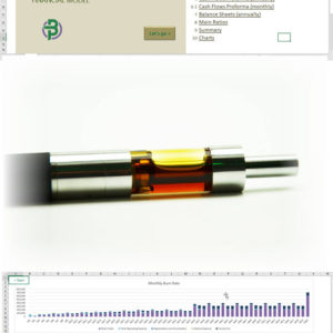 Cannabis Extraction Products Financial Model