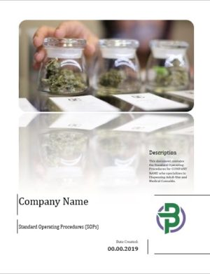 Cannabis Dispensary Business Standard Operating Procedures