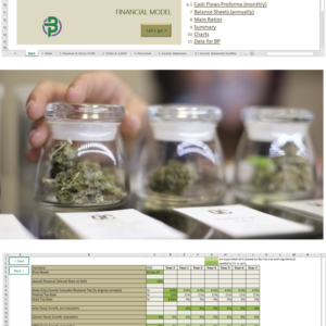 Cannabis Distributor Financial Model
