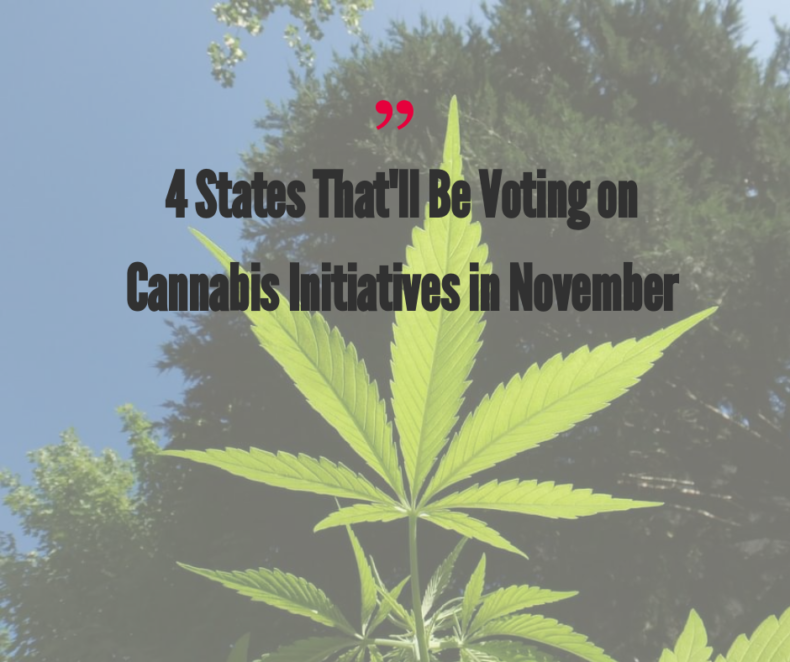 Cannabis November 2018 Ballot