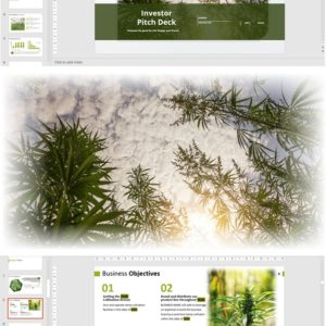 Investor Pitch Deck Template for Hemp Cultivation