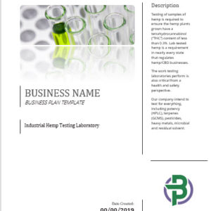 Hemp Industry Archives - Business Plan Templates